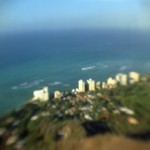 Waikiki as seen from Diamond Head